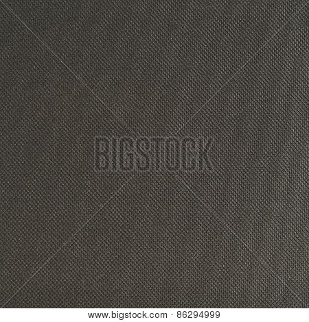 Black cloth material texture