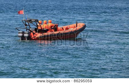 Marine Rescue Operation