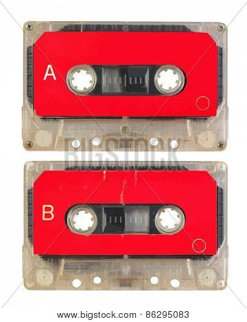audio cassette, vector