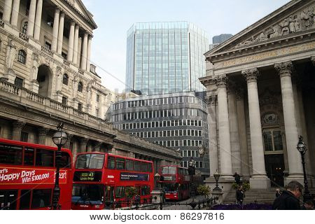Threadneedle Street, London