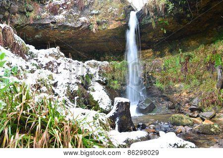 Maspie Den Waterfall