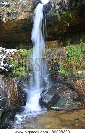 Waterfall at Maspie Den