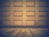 picture of niche  - dark room with niches - JPG