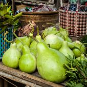 image of calabash  - Bottle green gourds  - JPG
