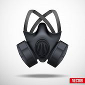 picture of respiration  - Respirator gas mask - JPG