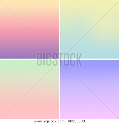 Blurred Mesh Gradient Background Pastel Colors