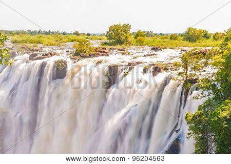Victoria Falls In Zimbabwe
