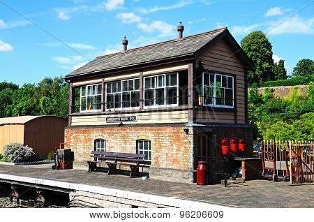 Bridgnorth Signal Box.