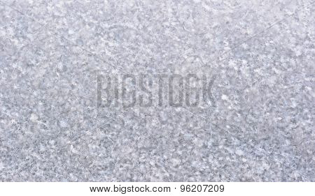 Close up of real snow