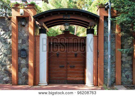 Front garden gate