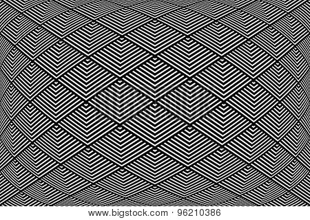 Geometric pattern. Abstract textured background. Vector art.