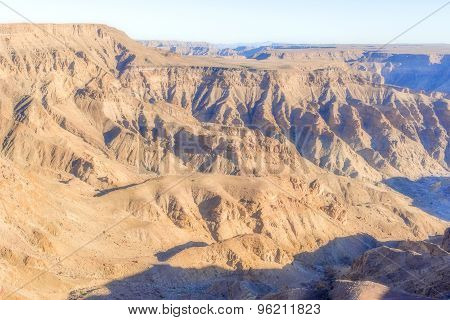 Fish Canyon In Southern Namibia