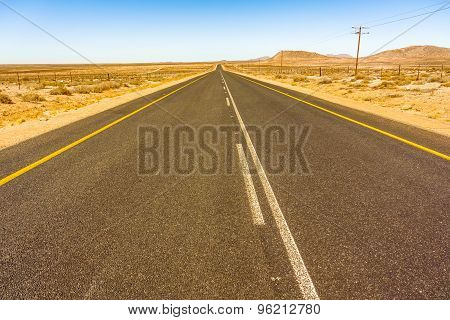 Road In South Africa