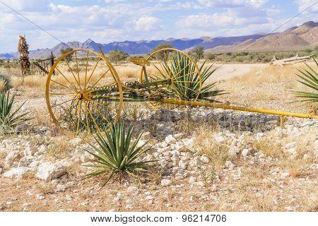 Khomas Highland Landscape In Namibia