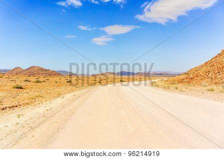 Namib Desert Near Solitaire