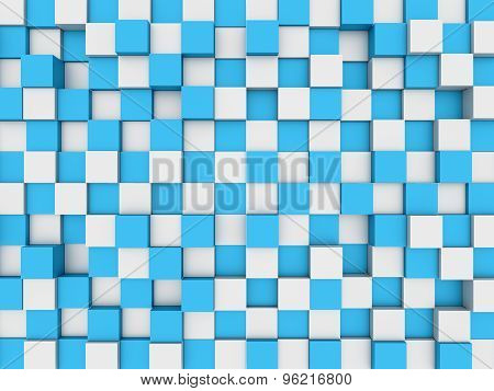 Abstract Mosaic 3D Background