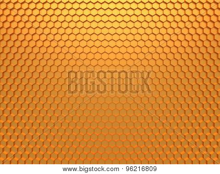3D Honeycomb Background
