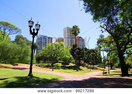 Plaza Barrancas De Belgrano In Buenos Aires