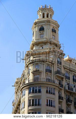 Historic Architecture In Valencia.