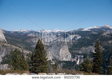 Hiking Panaramic Train In Yosemite