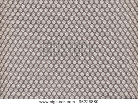 Honeycomb fabric texture