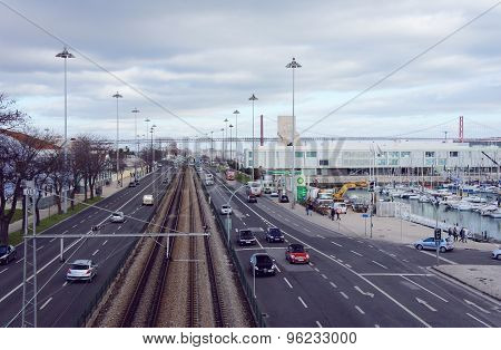 Avenida Brasilia Street Of Belem