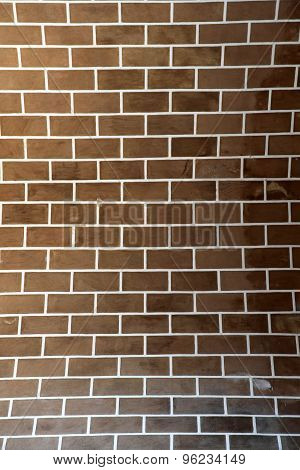 Vertical Brick Wall