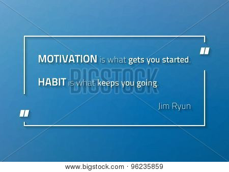 Motivational Poster With Jim Ryun (athete) Quotte