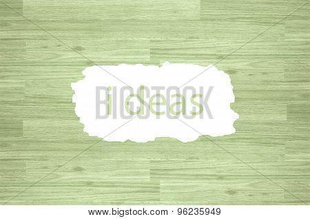 Maple hardwood on a white background Idea.