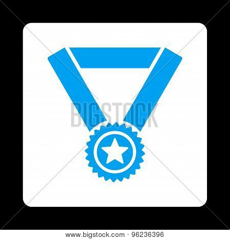 Winner medal icon from Award Buttons OverColor Set