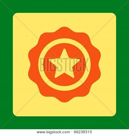 Reward seal icon from Award Buttons OverColor Set