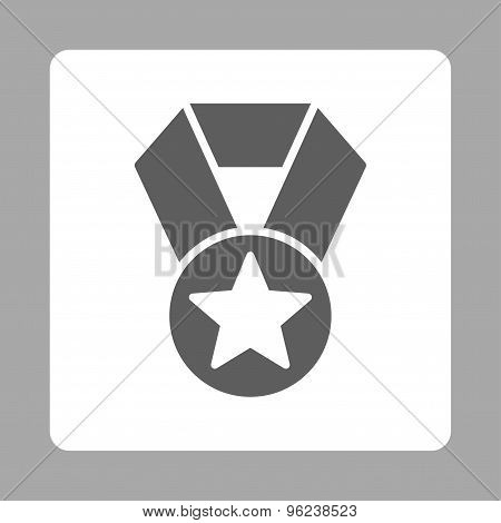 Champion medal icon from Award Buttons OverColor Set