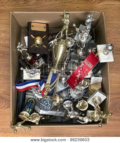 Box Of Trophies.