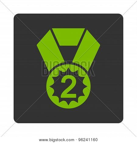 Second place icon from Award Buttons OverColor Set