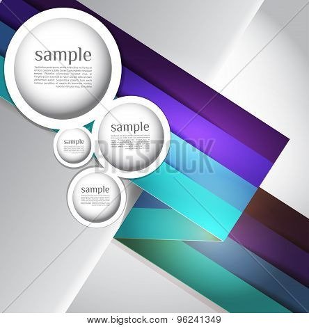 Abstract web design bubble, line abstract
