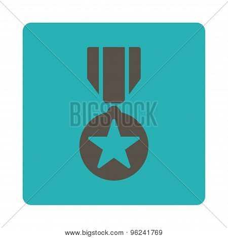 Army award icon from Award Buttons OverColor Set