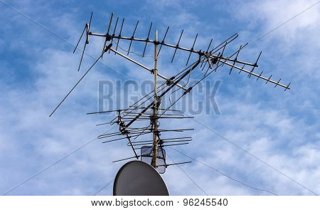 Satellite Tv Antenna Together Exotics Technology Is Very Different,