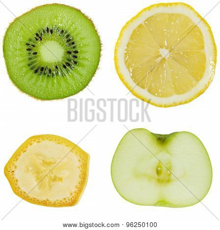 Collection Of Vegetables On Isolated Background