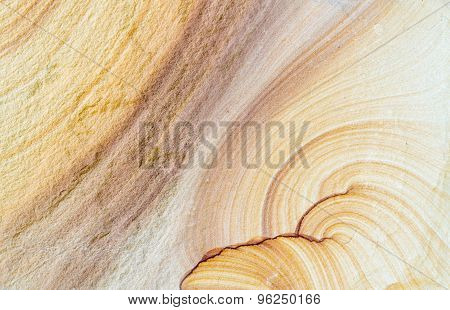 Patterned sandstone texture background (natural color). sandstone in Thailand.