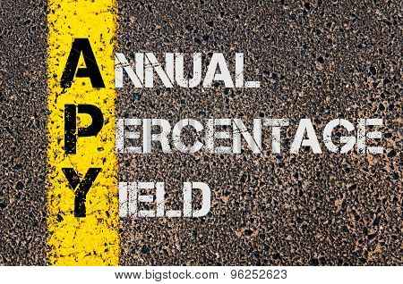 Business Acronym Apy As Annual Percentage Yield