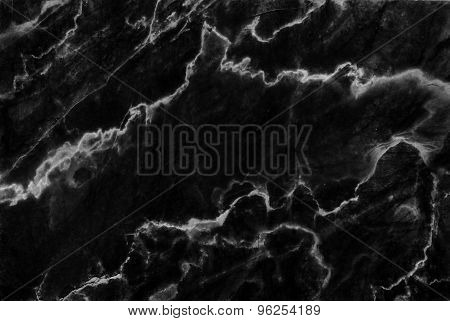 Black marble texture, detailed structure of marble for design.