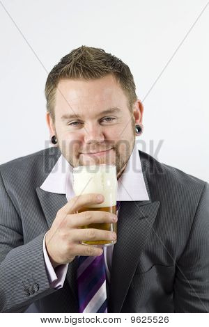 Happy Frothy Beer