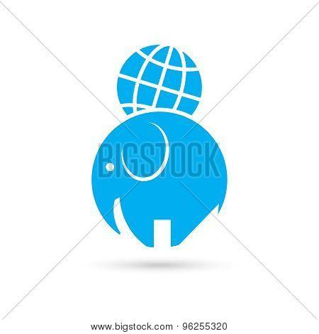 Elephant And The Globe