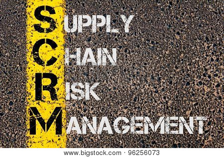 Business Acronym Scrm As Supply Chain Risk Management