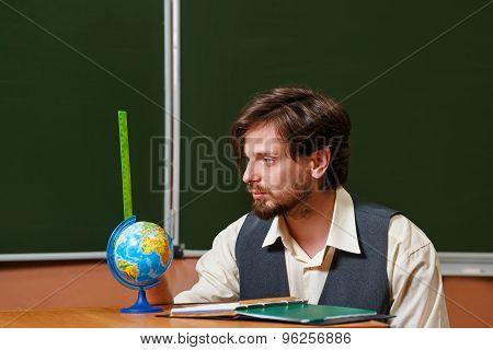 Man. Geography Teacher.