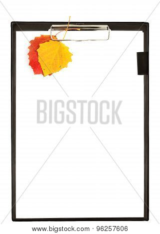 Autumn Clipboard