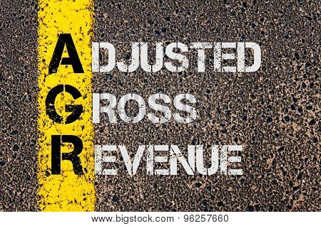 Business Acronym Agr As Adjusted Gross Revenue
