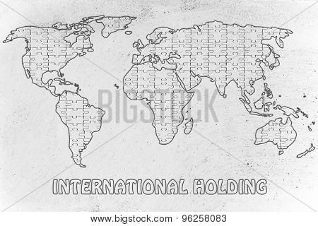 International Holding, Jigsaw Puzzle World Map