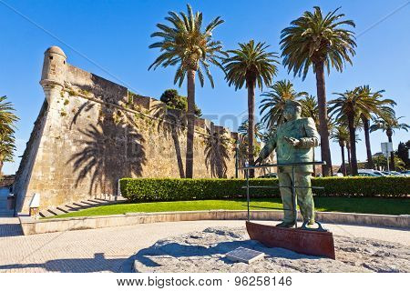 Statue Of Dom Carlos I, King Of Portugal, Cascais, Portugal
