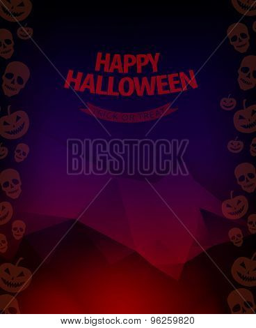 Halloween background horror